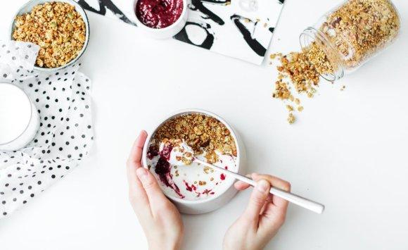 """Endometriózis diétába illeszthető recept- vegán gyümölcs""""joghurt"""""""