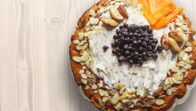 Mennyei karácsonyi menü endometriózis diétában is- segít az Endoblog.hu   Sütőtökös vegán sajttorta recept