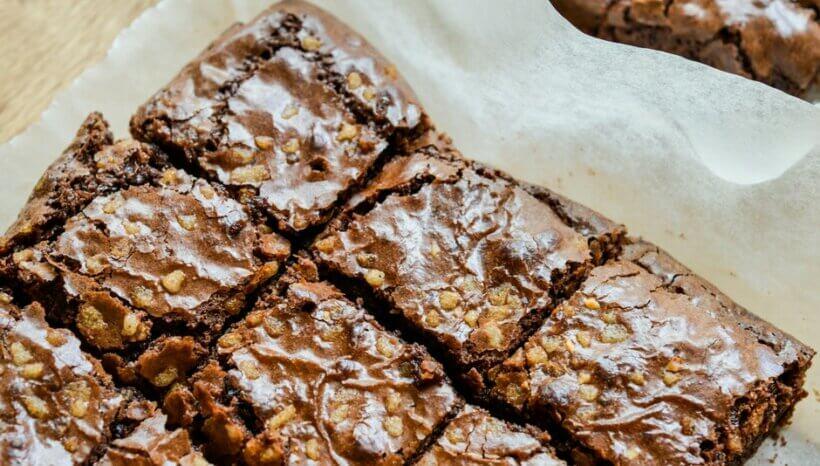 Endometriózis diéta recept- édesburgonyás vegán brownie