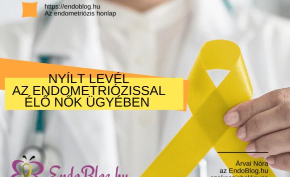 Nyílt levél a döntéshozókhoz az endometriózissal élők ügyében